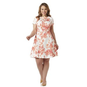 Covington Embellished Spring A-line Lightweight Dress