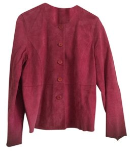 Eileen Fisher Suede Top Rose