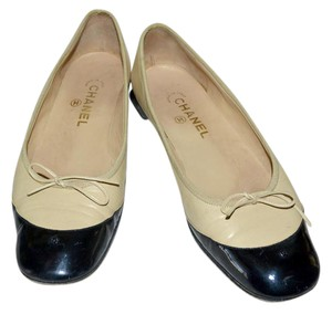 Chanel Spectator Made In Italy Ballerina Beige Flats