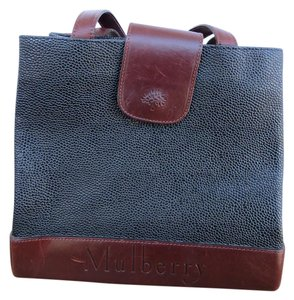 Mulberry Leather Vintage Shoulder Bag