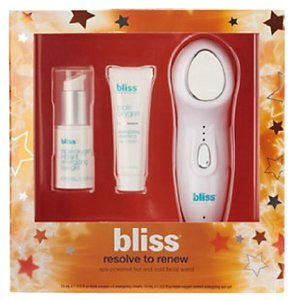 Bliss Bliss Resolve To Renew Spa-Powered Hot & Cold Facial Wand Kit