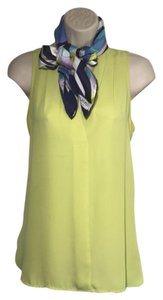 Vince Camuto Vince Yellow Spring Ships Next Day Tunic