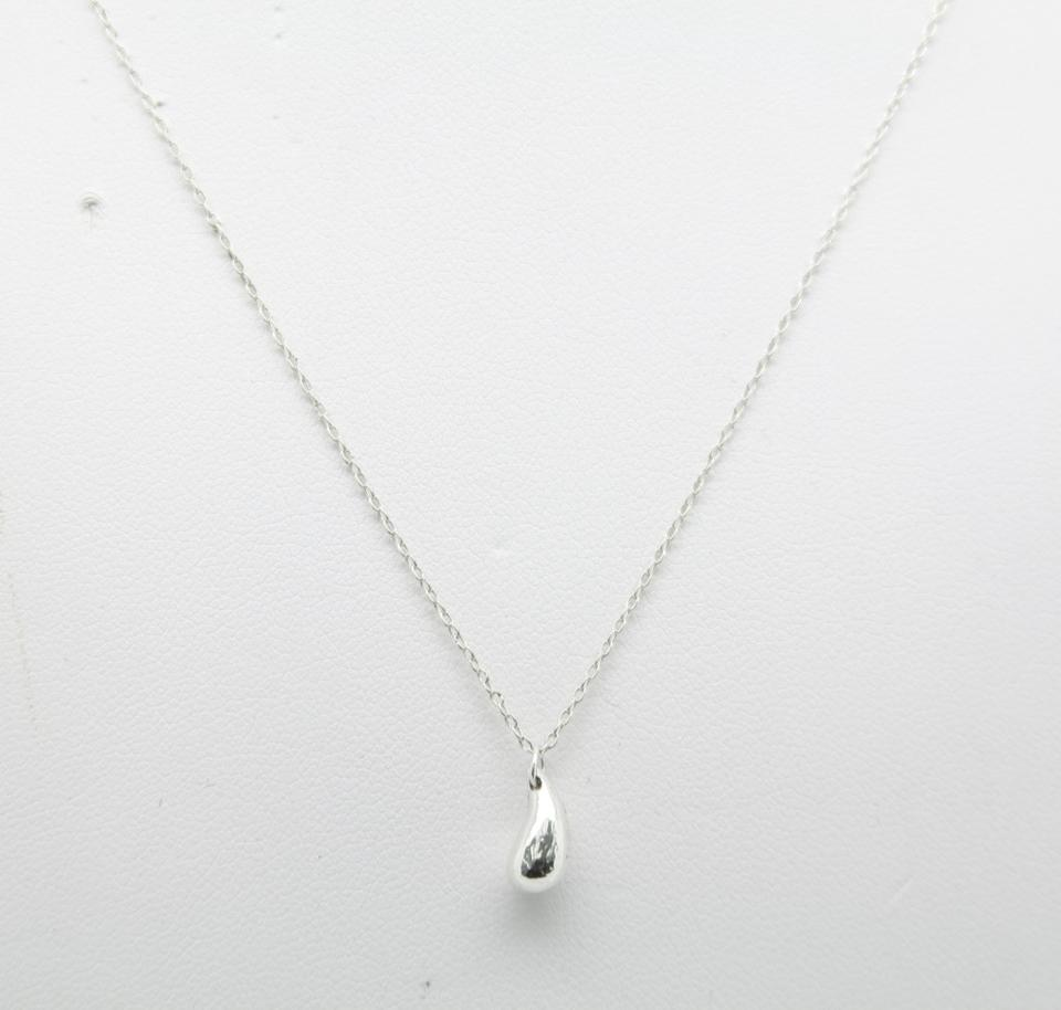 Tiffany co silver co elsa peretti teardrop pendant in sterling teardrop pendant in sterling silver necklace 123456 mozeypictures Gallery