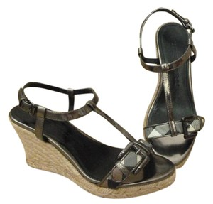 Burberry Espadrilles Buckle Nova Check Sandals