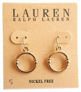 Ralph Lauren Gold tone Ralph Lauren Hanging Earrings