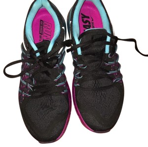 Nike black and purple and blue Athletic