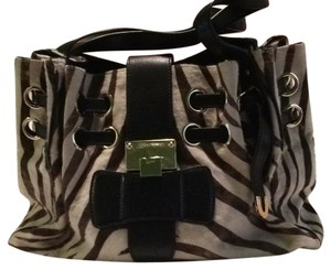 Jimmy Choo Satchel in black and brown