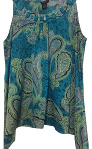 Nue by Shani Top teal/green
