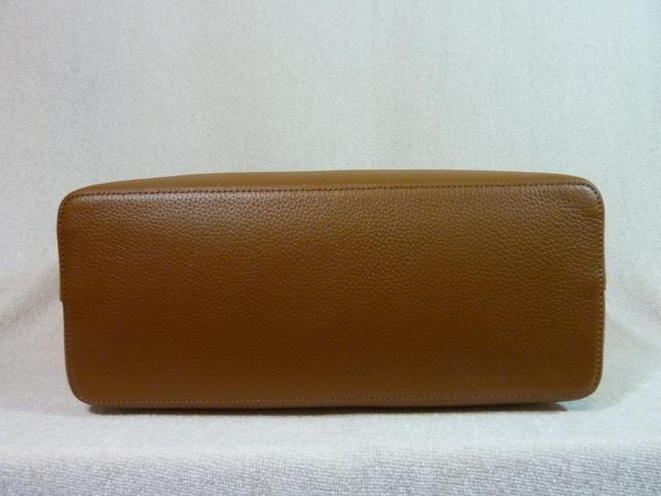 Tote Brown Perry Burch Tory Leather ZqP7IxU