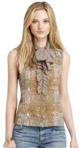 Tory Burch Top Taupe/Beige/Grey
