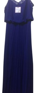 Dark Royal Blue Maxi Dress by Bisou Bisou