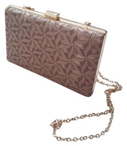 Other Taupe with Rose Gold Underlay Clutch