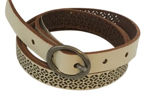 American Eagle Outfitters Perforated Leather belt Size M