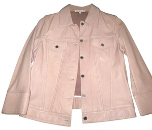 Rebecca Minkoff Pink Leather Jacket