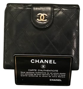 Chanel Quilted Lambskin Bifold wallet