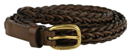 Preload https://img-static.tradesy.com/item/21041795/gucci-cocoa-brown-braided-leather-skinny-wgold-buckle-8534-380607-2617-belt-0-1-540-540.jpg