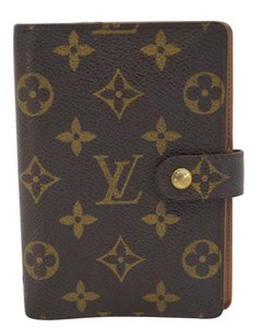 Louis Vuitton Louis Vuitton Monogram Agenda PM Day Planner Cover