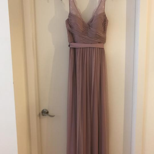 BHLDN Rose Quartz Nylon Tulle Lace; Polyester Lining Fleur Formal Bridesmaid/Mob Dress Size 6 (S) Image 5
