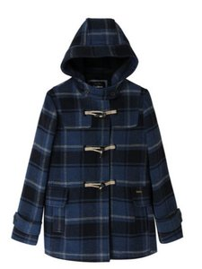 Pepe Jeans Duffle Horn Fasteners Hooded Pea Coat