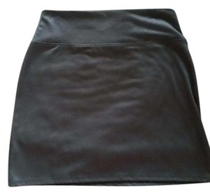 Maurices Classic Business Stretchy Skirt Black Pencil