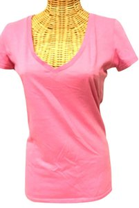 Threads 4 Thought V-neck T Shirt Pink