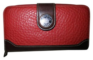 Dooney & Bourke full size pebbled leather check book