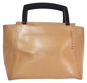 Lamarthe Satchel in tan