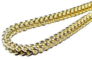 Other Diamond Cut 5.5MM Wide Franco Box Link Chain Necklace 24 Ins