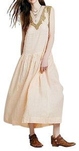 Pink Maxi Dress by Free People Fp Mes Demoiselles Paris French Powder Gown Long Maxi
