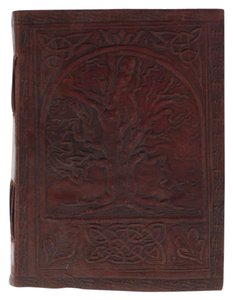 Artisan Journal Genuine Leather Tree of Life Journal Sketch Book Handcrafted Artisan