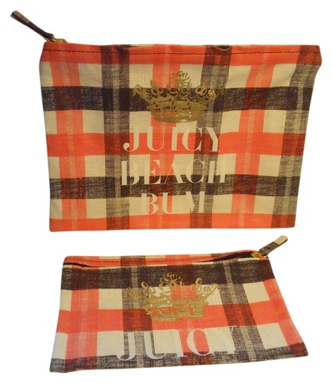 Juicy Couture 2 Juicy Couture cosmetic bags
