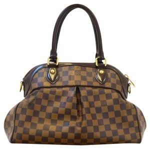 Louis Vuitton Lv Trevi Pm Damier Ebene 2way Handbag Satchel