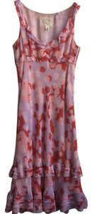 lilac red pink Maxi Dress by Deletta