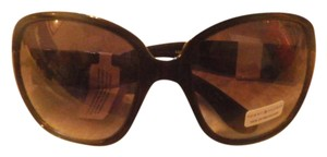 Tommy Hilfiger NEW Tommy Hilfiger OVAL BLACK LUANN Sunglasses New