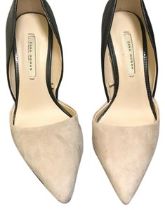 Zara Black/Nude Suede Pumps