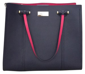 Kate Spade Satchel in navy blue and pink