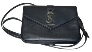 Saint Laurent Ysl Leather Iphone Case Made In Italy Cross Body Bag