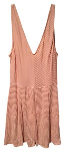Silence + Noise Open Back Soft Fit And Flare Dress