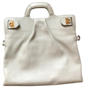 Salvatore Ferragamo Satchel in light grey