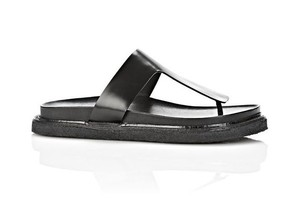 Alexander Wang Slice White Black Sandals