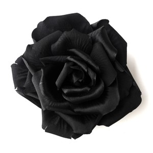 Elegance By Carbonneau Black Flower Hair Clip 428