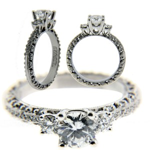 Tacori Tacori 2369 .44 Carat Diamond Engagement Ring In Platinum Fits 1 Carat