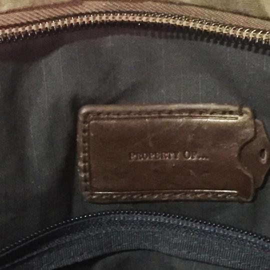 property of green Travel Bag