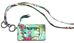 Vera Bradley sea foam ID holder with lanyard