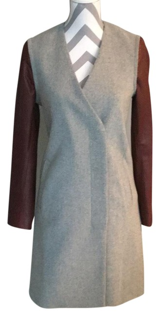 Item - Grey Quennel New with Tags Cable Scarf Jacket Size 4 (S)