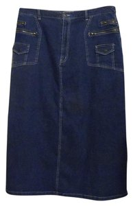 Denim 24/7 Skirt Blue