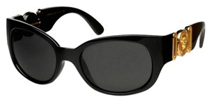 Versace VERSACE ICONIC ARCHIVE EDITION GOLD MEDUSA BLACK SUNGLASSES 4265