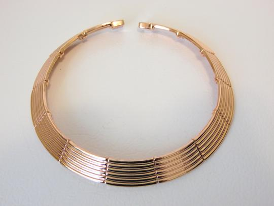 Joan Boyce Joan Boyce Ribbed Neck Wire Necklace M/L