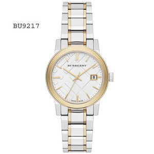 Burberry New Burberry Silver Dial Two-tone Stainless Steel Ladies Watch BU9217