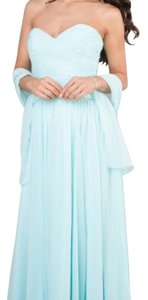 Mori Lee It Is Called Mint- But Really Looks Ocean Blue Mori Lee Blue Bridesmaid Dress Dress